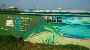surf and clean mural razo