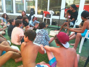 taller surf and clean en surf and rock