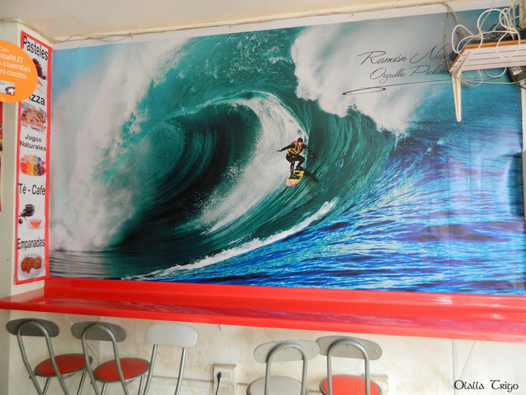 ramon navarro orgullo de Pichilemu, Chile. Surf ANd Clean