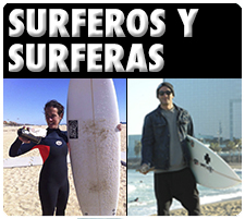 surferas y surferos, surf and clean